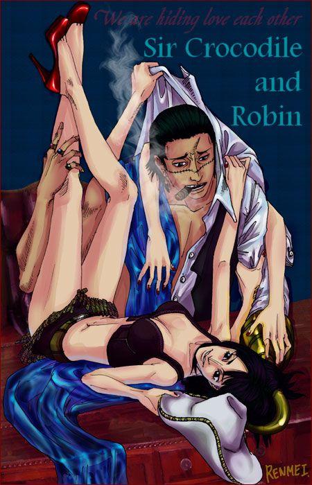 Crocodile x robin one piece one piece nico robin one - Luffy x nico robin ...