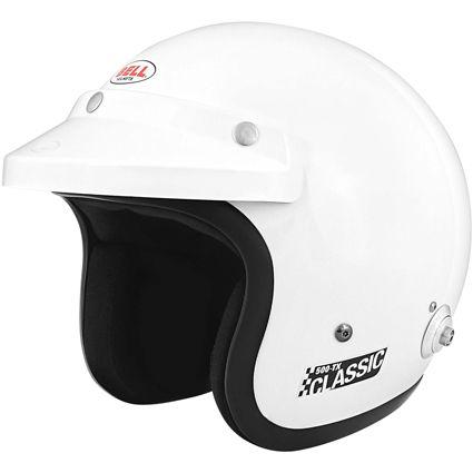 Bell 500-TX Classic Helmet White SA2010