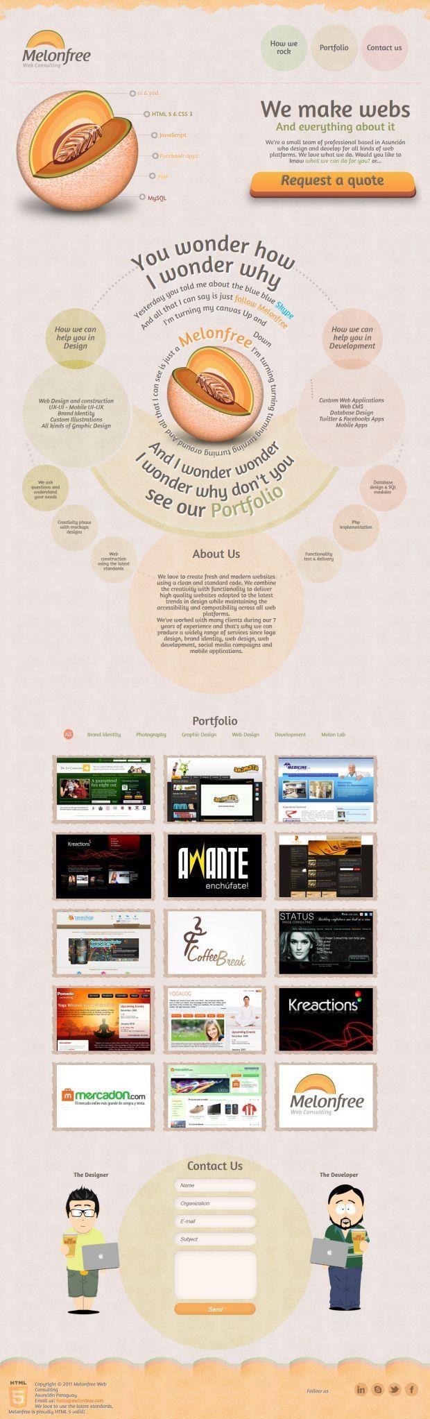 Melonfree Interactive Web Design and Web Development Agency - Best website, web design inspiration showcase