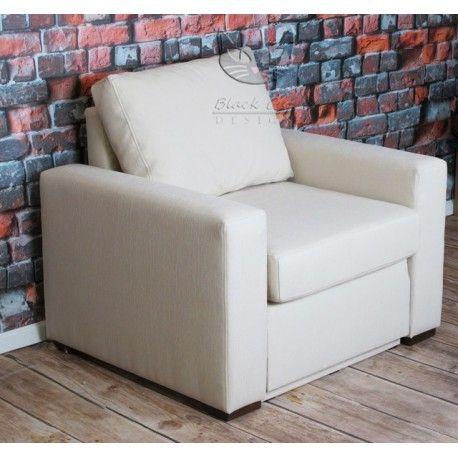 Nowoczesny fotel z funkcją spania - Modern