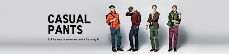 Men's Casual Pants - Men's Chino Pants, Cargo Pants And More | UNIQLO