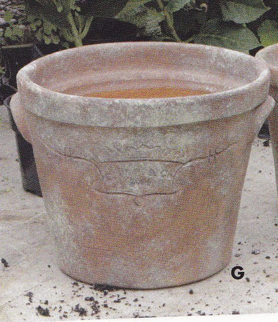 4 Guy Wolff Large Greenhouse Collection  Peabody Clay Garden Pot Pots Planters