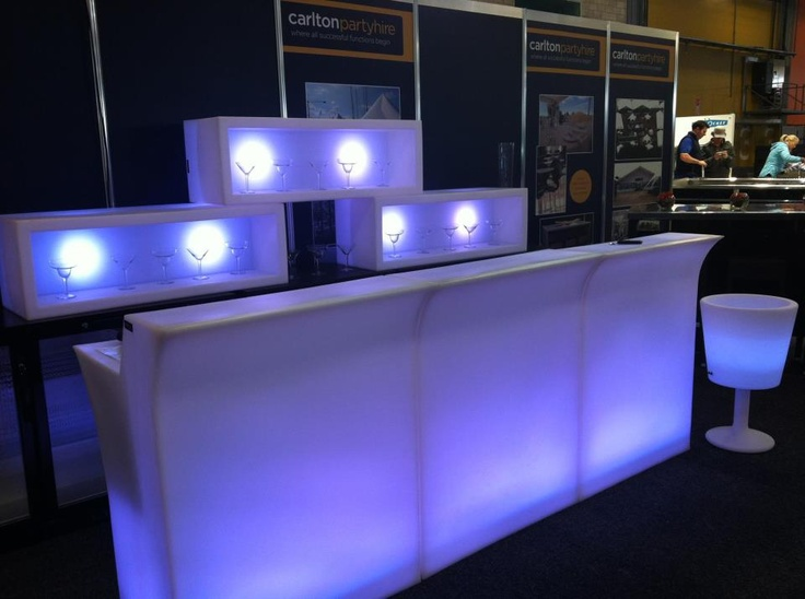 LED light bar with light boxes #colourful