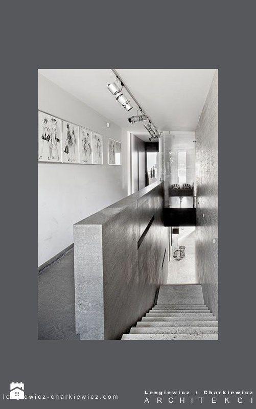 dom znanej projektantki mody - zdjęcie od Lengiewicz-Charkiewicz Architekci - Schody - Styl Nowoczesny - Lengiewicz-Charkiewicz Architekci