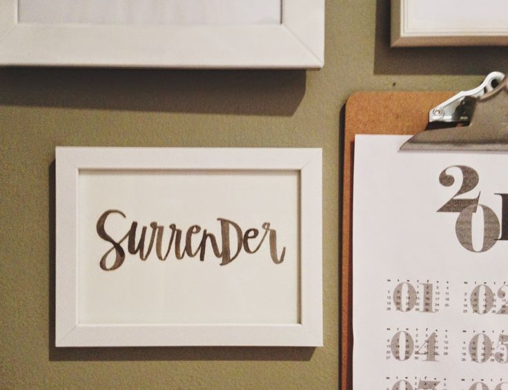 My Devising: surrender in 2015 - my word for the year (One Word Art by Brave Little Taylor ... https://www.etsy.com/shop/TheBraveLittleTaylor?ref=l2-shopheader-name )
