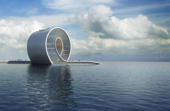 St. Petersburg Wave Pier, Floria by Danish BIG Architects