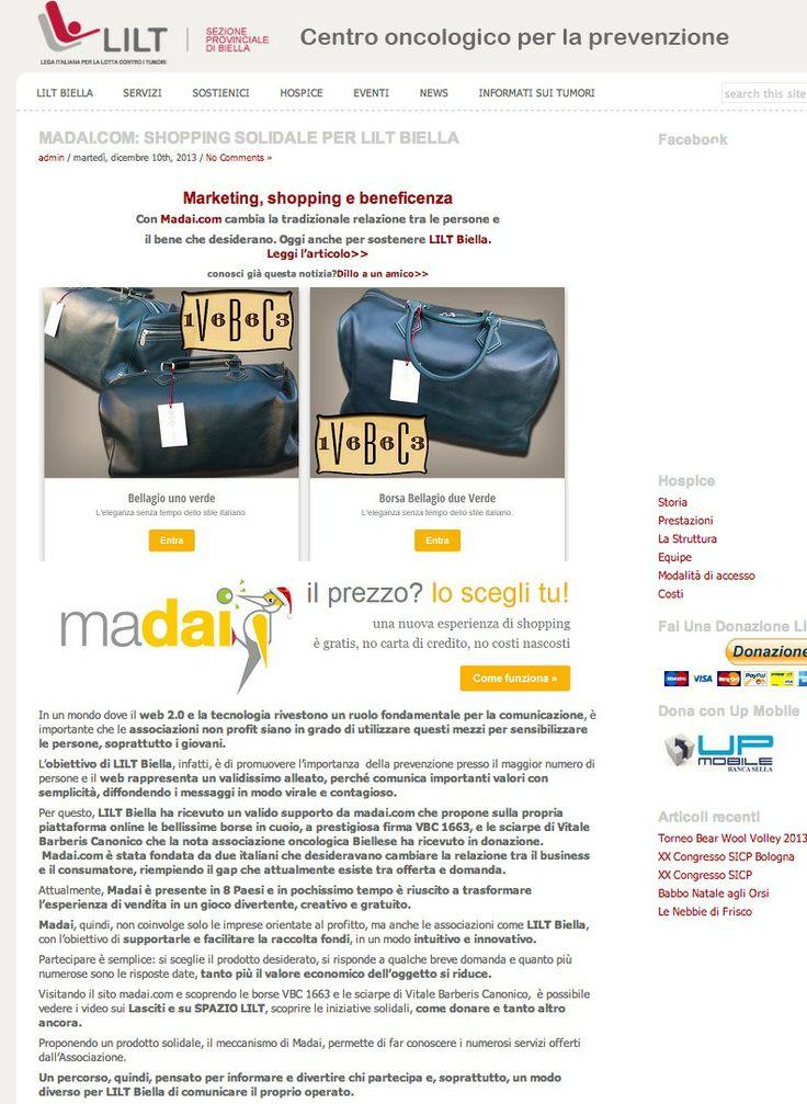 madaiAiD for LILT Biella http://www.liltbiella.it/news/prova-madai.html