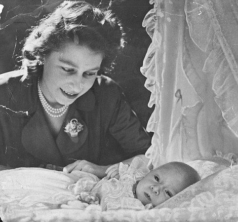offical photo of kate and baby | Traditional: Cecil Beaton's 1948 photo of Prince Charles (left) and ...