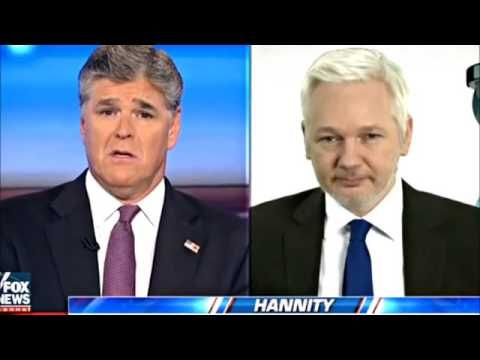 NEW Julian Assange on The Sean Hannity Radio Show 12 17 2016 - YouTube