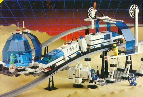 Lego Monorail Shooter Launcher