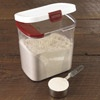 Progressive Flour Keeper, DKS-100  It holds an entire 5 lb. bag of flour.