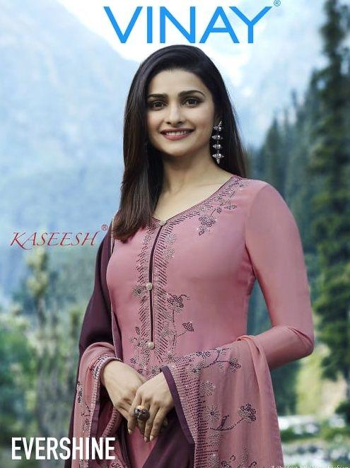 329ea6d646 Krishna Creation » vinay fashion kaseesh evershine georgette diamond work salwar  kameez wholesale vinay evershine