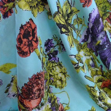 Love this from Tessuti Fabrics