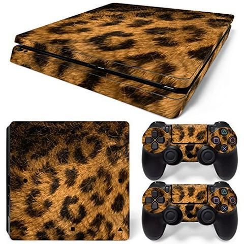 ModFreakz® Console/Controller Vinyl Skin Set – Leopard #für  for PS4 Slim #PS4 #ModFreakz #vinyl #gaming #accessories #diy #decal