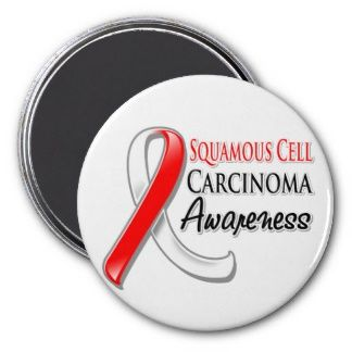 Squamous Cell Carcinoma Awareness Ribbon