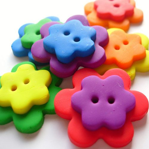 Fimo buttons