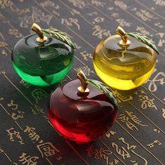 #Banggood Хрустальное яблоко форма уникальный пресс-папье домашние украшения леди свадебные подарки (1111852) #SuperDeals