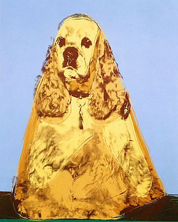 Andy Warhol - Ginger, 1976, private collection; courtesy Sperone Westwater, New York