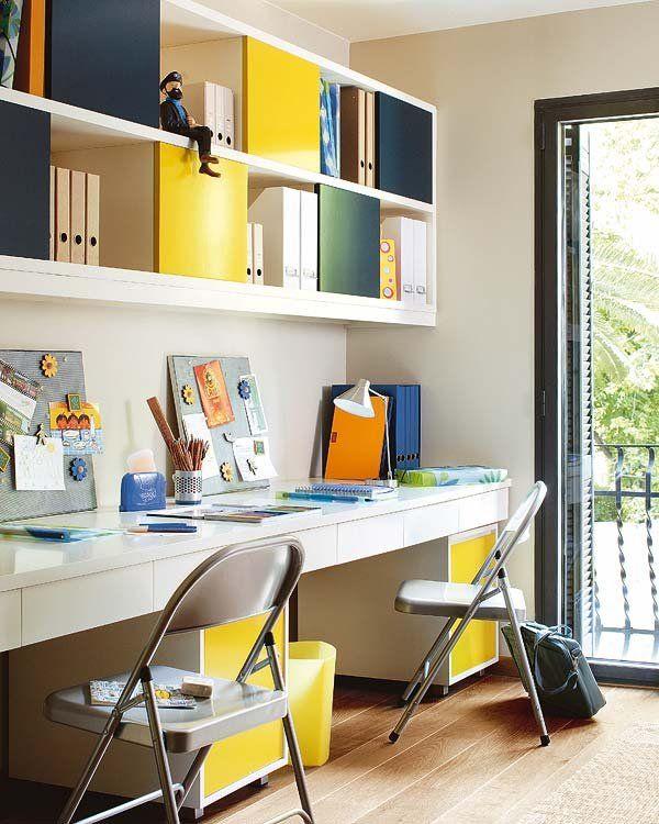 78 images about despacho habitacion on pinterest tes for Escritorios juveniles