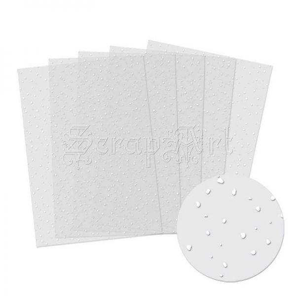 acetátová fólie - Snowfall Acetate Sheet