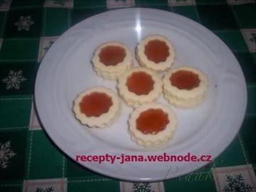 Zobrazit detail - Recept - Linecké solamylové koláčky