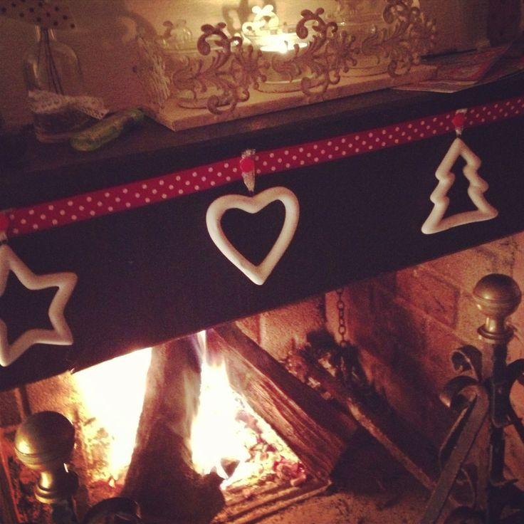 25 best ideas about camino con candele on pinterest - Camini decorati per natale ...