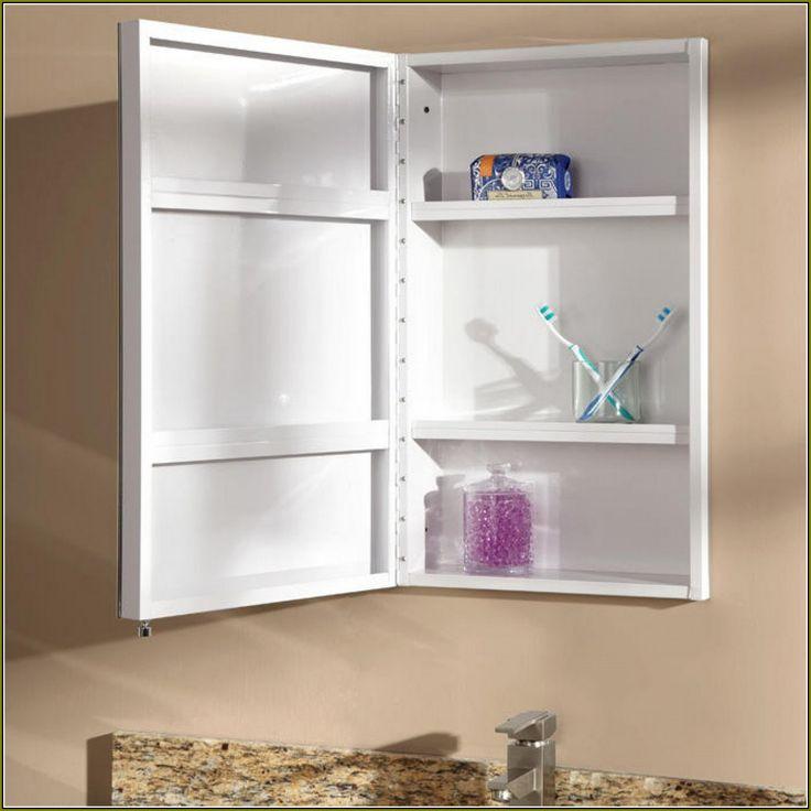 Recessed Medicine Cabinet No Mirror, Recessed Bathroom Medicine Cabinets No Mirror