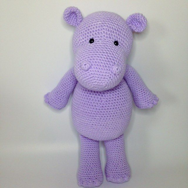 Amigurumi Hippo Pattern Free : 1000+ ideas about Crochet Hippo on Pinterest Amigurumi ...