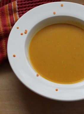 Winter squashes include pumpkin, acorn, butternut, spaghetti and hubbard. Soup is a great, savoury way to start experimenting with squash if you are new to cooking with them. Between the lentils and the squash, just one bowl of this soup offers over 4 grams of fibre, and a rich source of beta carotene, potassium, and folate. The lentils also add protein. These nutrients have amazing potential to reduce risk of eye diseases, hypertension, heart disease, certain cancers, and type 2 diabetes…