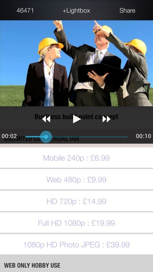 Find royalty-free stock footage faster | App design | Creative Bloq