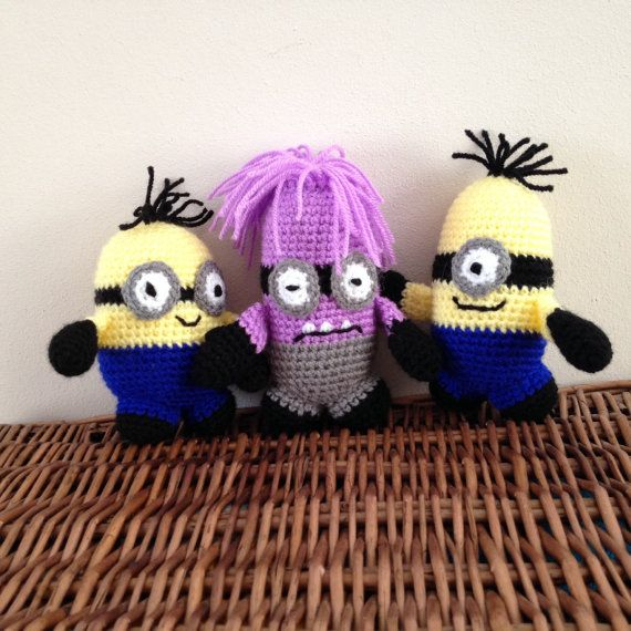 Hey, I found this really awesome Etsy listing at https://www.etsy.com/listing/227562989/handmade-minion-toy