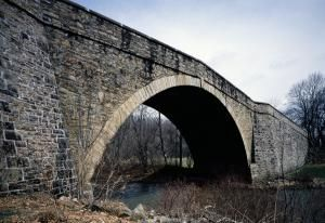 The National Road, First Federal Highway, Was Built 200 Years Ago: The Casselman Bridge on the National Road