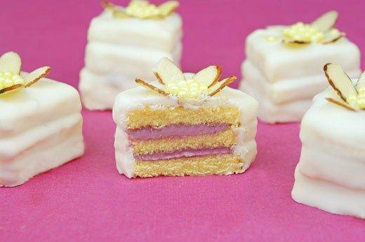 69 Best Images About Petit Fours On Pinterest Lemon