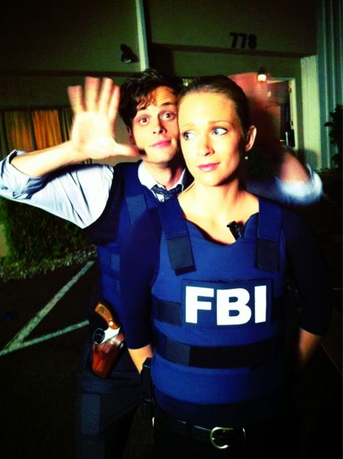 Criminal Minds Behind The Scenes (courtesy Thomas Gibson)