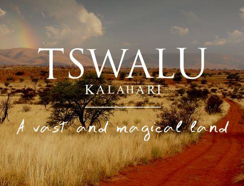 Tswalu - a hidden gem
