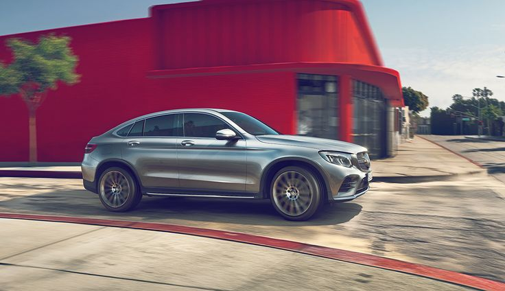 Mercedes-Benz GLC on Behance