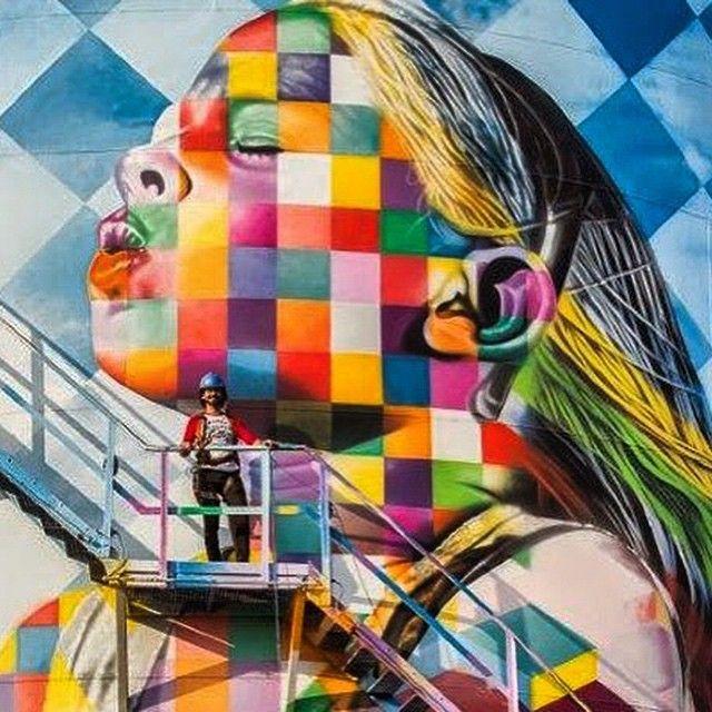 Eduardo Kobra artist