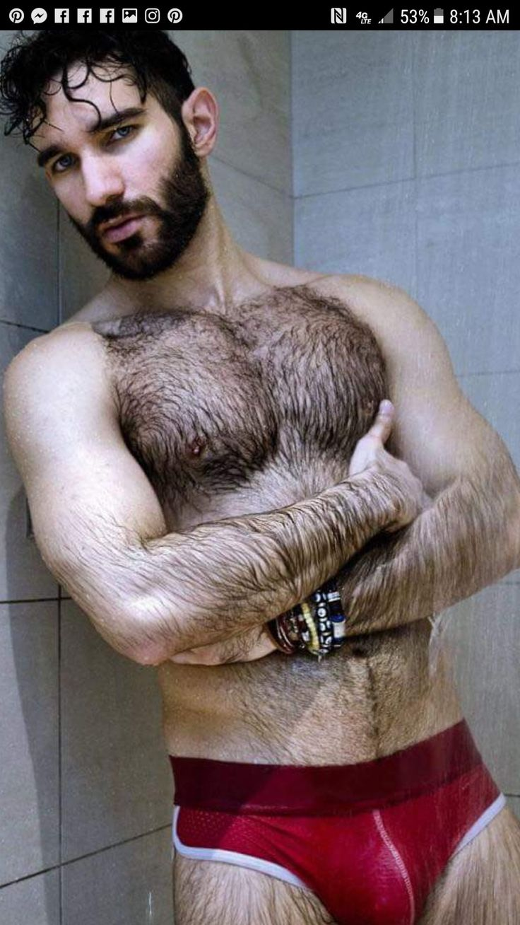 Hairy Guys Drools Me Good  Hairy And Bears  Pinterest -5441