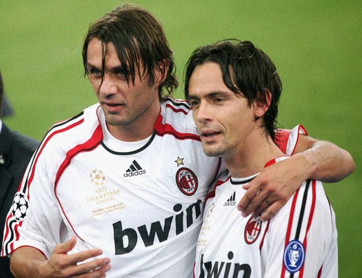 Maldini and Inzaghi