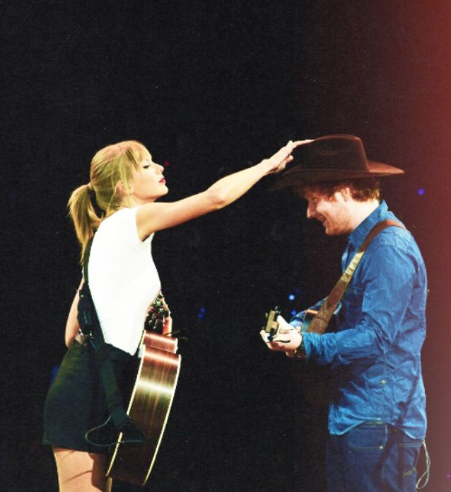 ed sheeran and taylor swift - photo #20