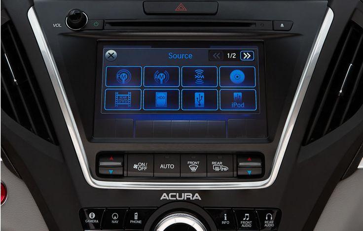 2015 Acura MDX Interior