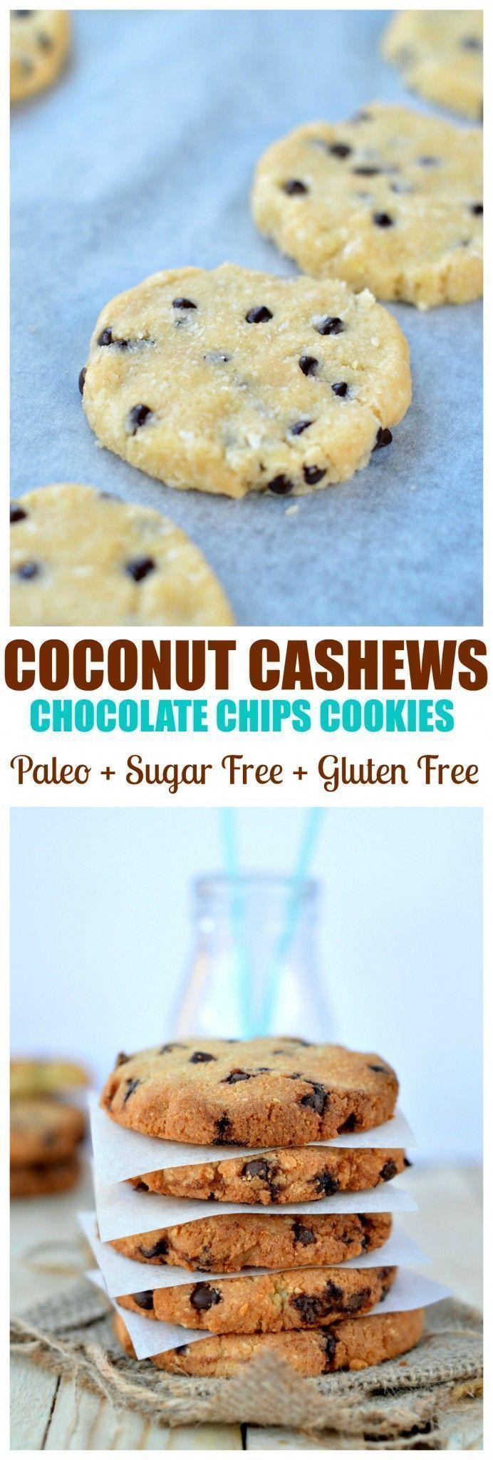 Sugar free cookies | Cashew cookies with coconut flour | healthy clean cookies | cashew cookies | paleo cookies | daiebtes friendly cookies