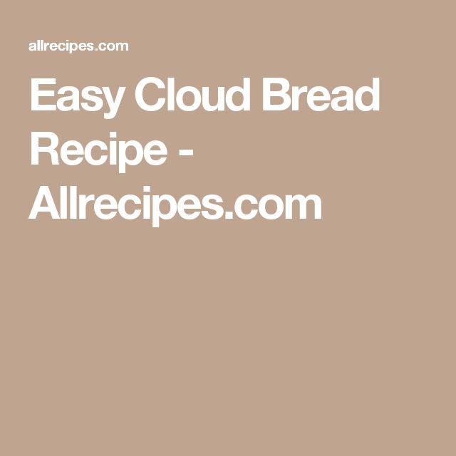 Easy Cloud Bread Recipe - Allrecipes.com