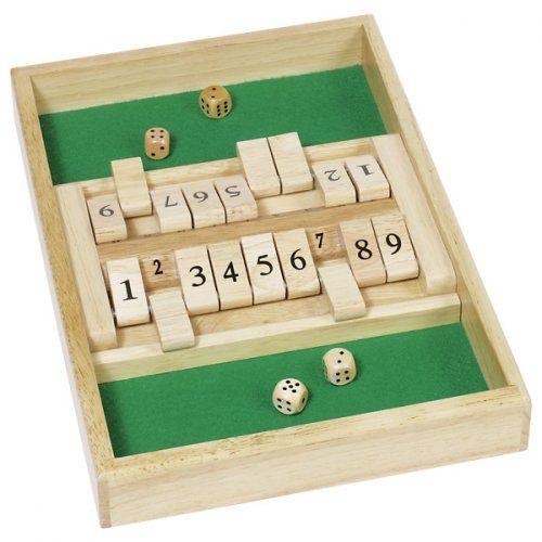 Διπλό Κλείσε το κουτί/ Two-players Shut the Box game