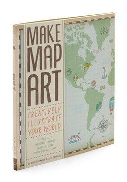 Make Map Art Kit, #ModCloth