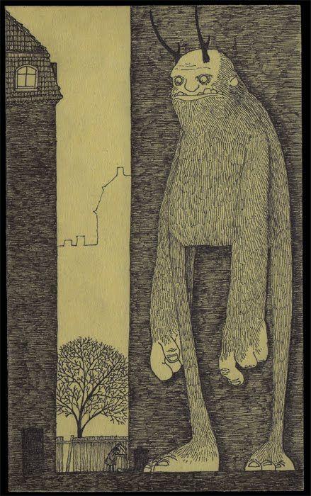 monstruos - el lugar le queda chico, incomodo