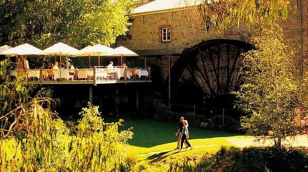 """Best places to eat and drink in the Adelaide Hills Wheel estate: Bridgewater Mill Restaurant offers """"posh platters""""."""