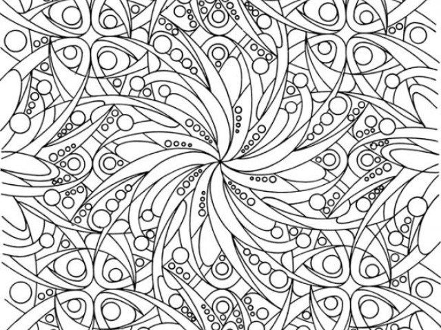 Adult Coloring Pages Abstract 3 1