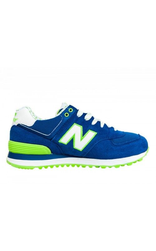 New Balance 574 Trainers Womens Running Shoes Blue