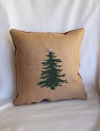 stencil christmas pillows - Google Search